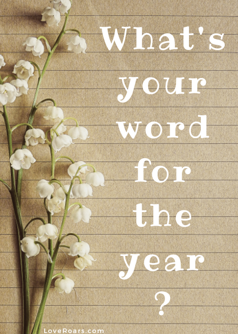 What is your word for the new year?